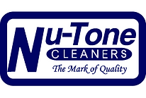 The Logo for Nu-Tone Cleaners.