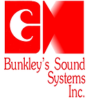 The Logo for Bunkley's Sound Systems Incorporated.
