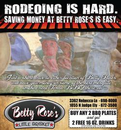 Betty Rose's Ad