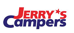 The Logo for Jerry's Campers.