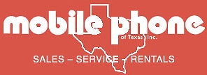 The logo for Mobile Phone of Texas.