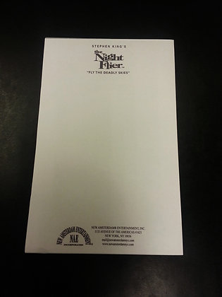 THE NIGHT FLIER Notepad
