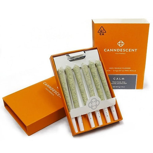 Canndescent Calm 117 .5g Pre-roll 6 Pack