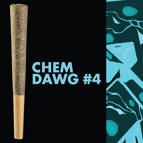 Korova - Chem Dawg #4 (All Flower), 1g