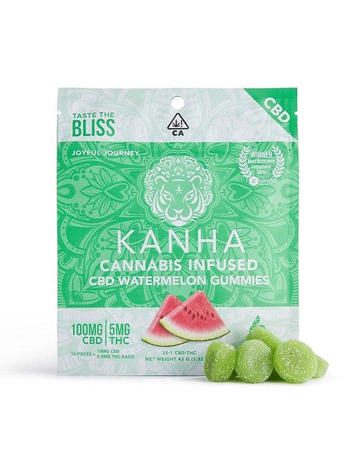 Kanha 20:1 CBD Watermelon Gummies