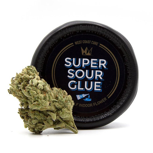 Super Sour Glue 1/8th Canned Flower (3.5g)