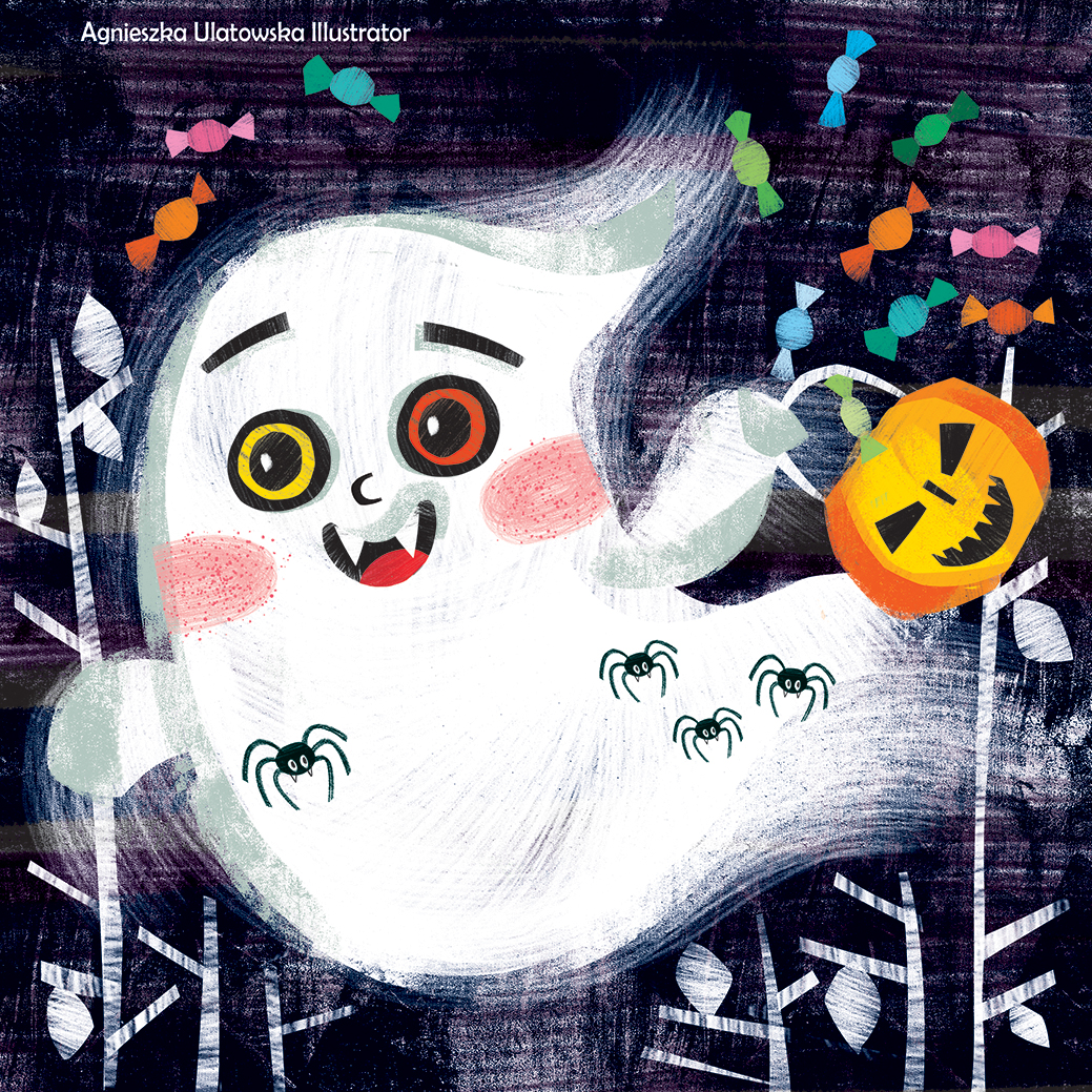 Oh oh, a ghost!