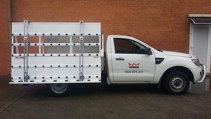 Glass Rack for Ute Ford Ranger