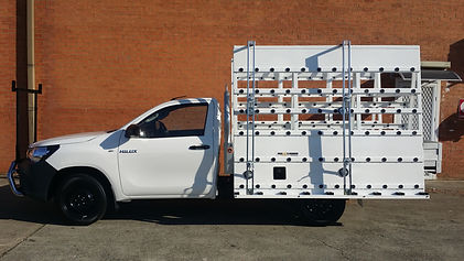 Glass Ute Rack Hilux