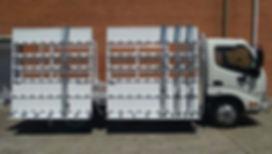 Glass Transport Rack