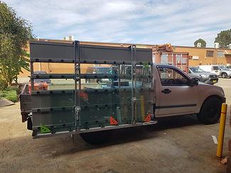 Isuzu glazing rack for sale