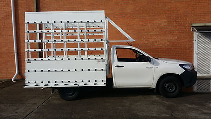 Glass Carrying for Ute Toyota Hilux