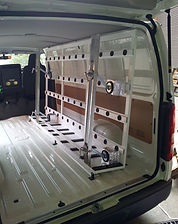 internal van racking
