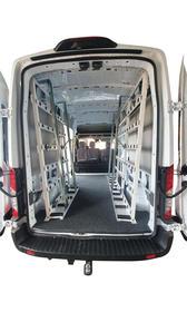 Internal Glazing Van Rack