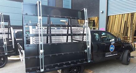 Glass Carrier Rack Brisbane