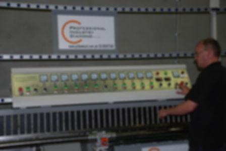 Glass Edging Machine Installation