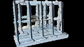 Aluminium Glass rack for truck