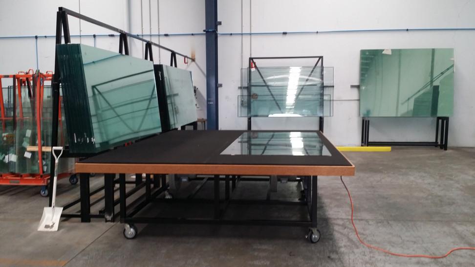 Air Float Table & Free Fall Rack