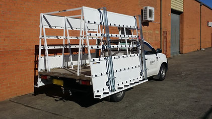 Glass Ute Rack Toyotal Hilux