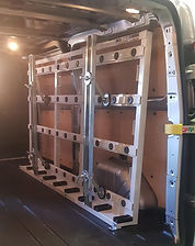 Internal Van Racks