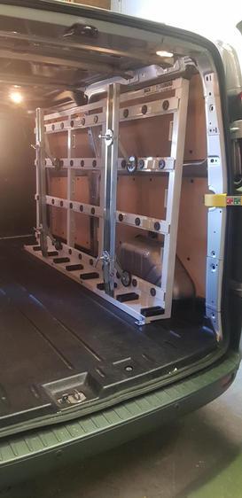 Internal Van Racks