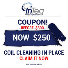 COUPONS INTEG RESIDENTIAL  coil cleaning