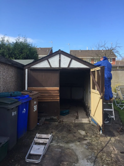 Garage Removal (Before)
