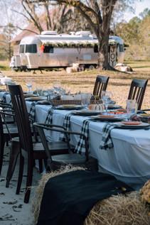 RV group camping