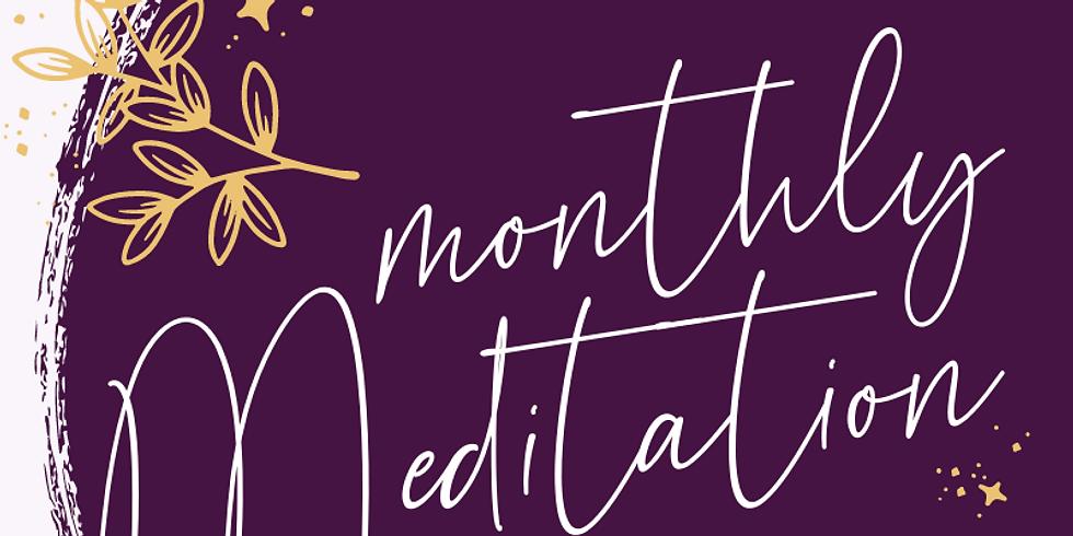 Free Monthly Meditation