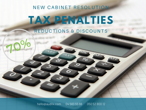 UAE tax penalties reduced and discounted