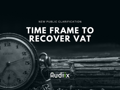 The time frame for recovering Input Tax in the UAE