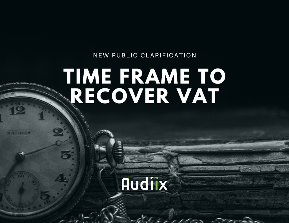 When to recover VAT in the UAE