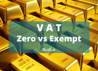 Zero-rated and exempt supplies