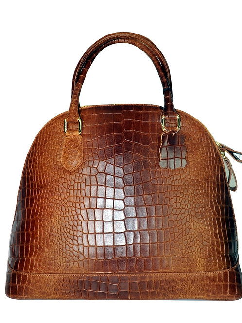 Misty U.S.A. 100% Genuine Cowhide Leather Handbags Made in Italy [YG8085-BN]