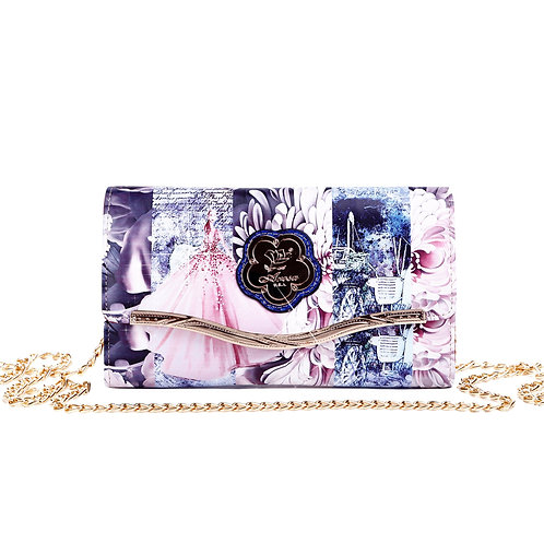 Blossomz Clutch iPhone Crossbody Multiple Pockets