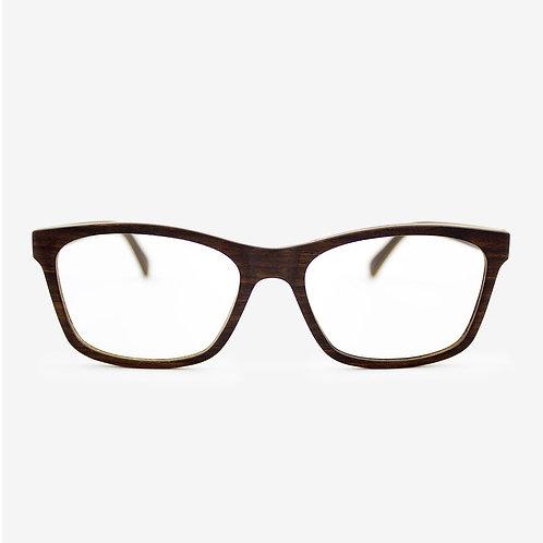Franklin - Adjustable Wood Eyeglasses