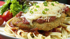 This is not Italian: Chicken Parmigiana