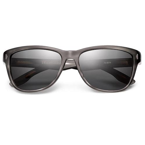 Standard: Matte Grey Tortoise / Grey Lens