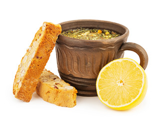 Chef Gianluca Deiana Abis: Lemon And Almond Biscotti
