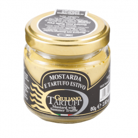 Mustard with summer Truffle (pack of 2) 80gr ea.
