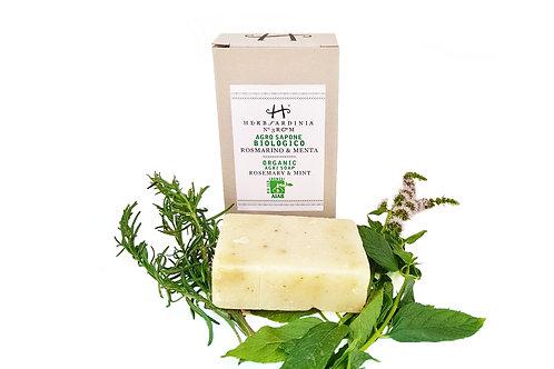 Organic Rosemary & Mint soap