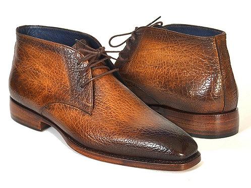 Men's Chukka Boots Brown & Camel
