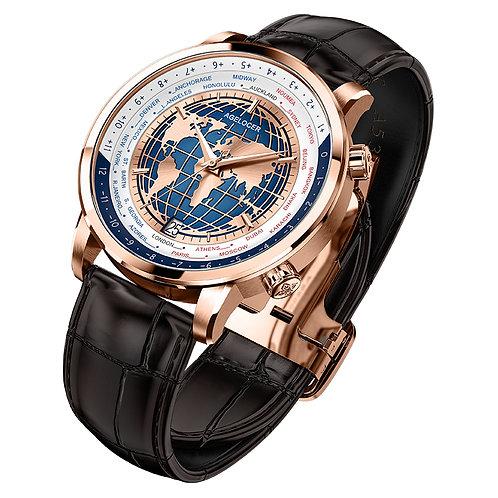Men Watch Swiss  Automatic Mechanical Men's Wristwatches Sapphire Leather