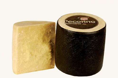 Pecorino Romano (Black) - P.D.O. Pecorino Romano Cheese