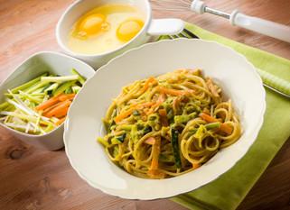 Gianluca Deiana Abis: Pasta Alla Carbonara Di Verdure/ Vegetarian Carbonara