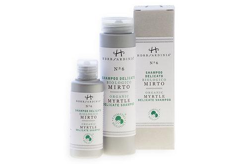Organic Sardinian Mirto Shampoo - 100ML