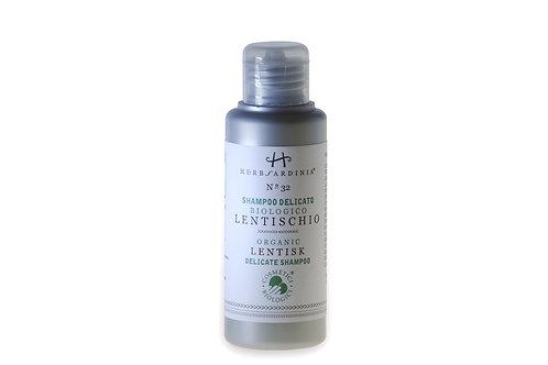 Organic Sardinian Lentisk Shampoo - 100ML