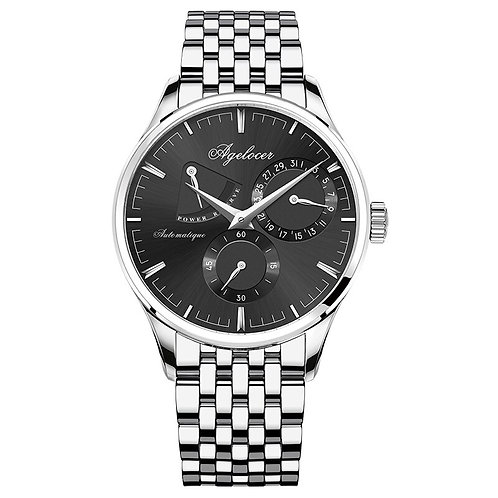 Mens Watches Swiss Automatic Watch With Day Pointer Calendar