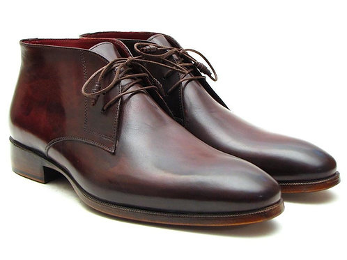 Men's Chukka Boots Brown & Bordeaux