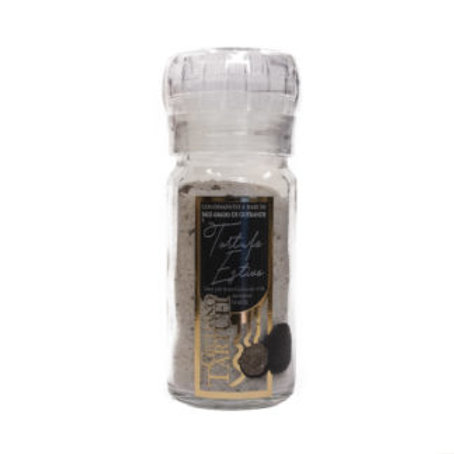Grey salt from Guérande with Truffle in grinder (pack of 2) 160gr/5.6oz)